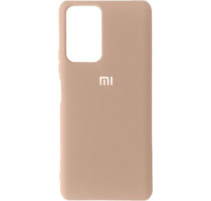 Чехол-накладка для Xiaomi Poco F3 / Mi 11i / K40 Original Soft Pink Sand