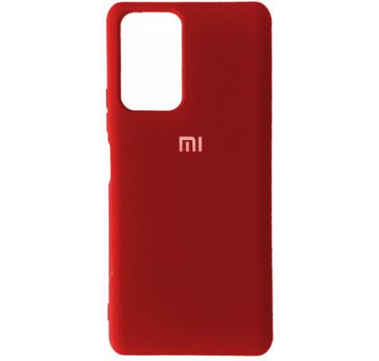 Чехол-накладка для Xiaomi Poco F3 / Mi 11i / K40 Original Soft Red