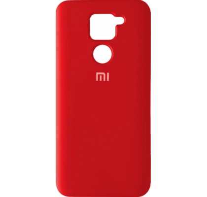 Чехол-накладка для Redmi Note 9 Original Soft Red