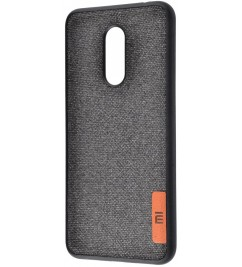 Чехол-накладка для Xiaomi Original Soft Black Textile