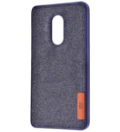 Чехол-накладка для Xiaomi Original Soft Blue Textile
