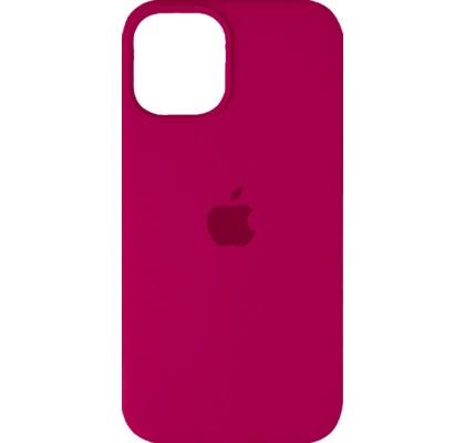 Чехол-накладка для Apple iPhone 12 Mini Original Soft Rose Red
