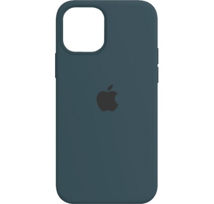 Чехол-накладка для Apple iPhone 12 Original Soft Dark Blue