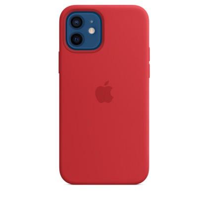 Чехол-накладка для Apple iPhone 12 Original Soft Red