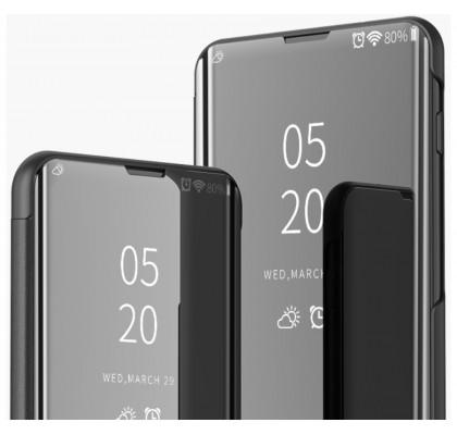 Чехол-книга для Xiaomi Mi9T / K20 с зеркальной поверхностью Black