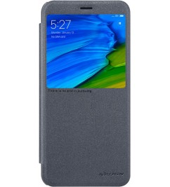 Чехол-книга Nillkin Sparkle с окошком для Xiaomi Black