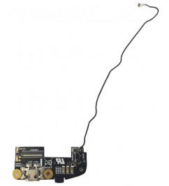 Антенна связи с микрофон и разъемом micro USB для Asus Zenfone 2 (ZE551ML)