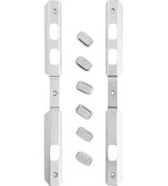 Корпус (боковые рамки) Doogee S60 Silver с кнопками включения/регулировки громкости/камеры/PPT/SOS
