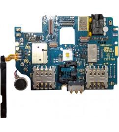 Плата с гнездом minijack и держателями SIM карт HomTom HT17 Pro