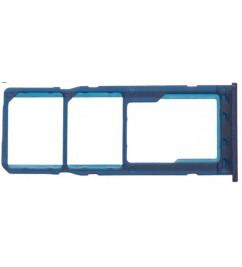 Держатель SIM-карт и microSD Samsung M30 Blue