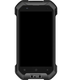 LCD+Sensor с рамкой for Blackview BV6000 Black