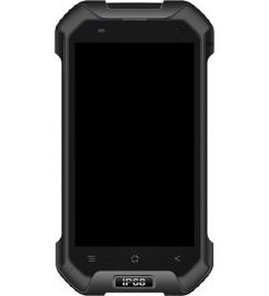 LCD+Sensor с рамкой для Blackview BV6000 Black