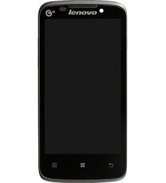 LCD+Sensor с рамкой for Lenovo A670t Black