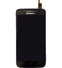 LCD+Sensor с рамкой for Lenovo S658t Black