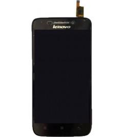 LCD+Sensor с рамкой for Lenovo S658t Black