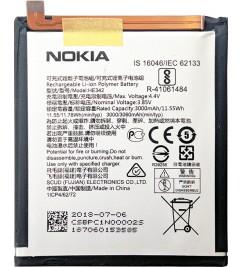 АКБ к смартфону Nokia X6 / Nokia 6.1 Plus (НЕ342)