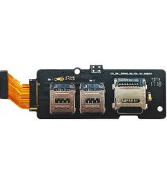 Держатель SIM-карт и microSD Blackview BV8000 Pro