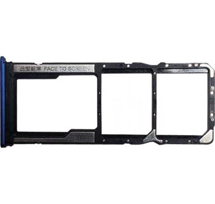 Держатель SIM-карт и microSD Redmi 8A Blue