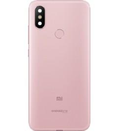Корпус (задняя крышка)  для Xiaomi Mi A2 Rose/Gold