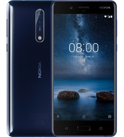 Nokia 8 (4+64GB) Polished Blue