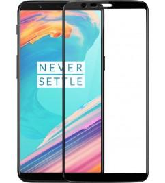 Защитное 2D стекло с рамкой для OnePlus 5T