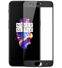Защитное 2D стекло с рамкой для OnePlus 5