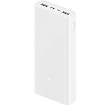 Power Bank Xiaomi Mi Power Bank 3 20000 mAh USB-C 18W PLM18ZM White (VXN4258CN)