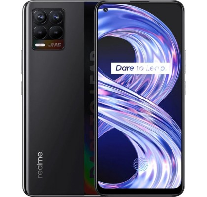 Realme 8 (6+128Gb) Black (EU)