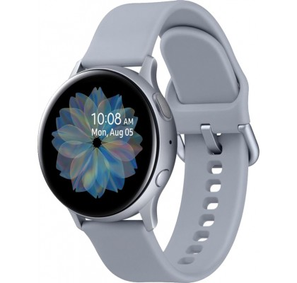 Смарт-часы Samsung Galaxy Watch Active 2 (SM-R820) силикон (Alum. Silver) 44mm