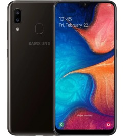 Samsung Galaxy A20 (3+32GB) Black (A205F/DS)