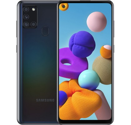Samsung Galaxy A21s (3+32GB) Black (SM-A217FZKN)