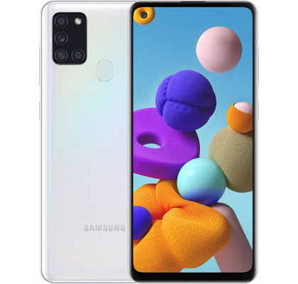 Samsung Galaxy A21s (3+32GB) White (A217F/DS)