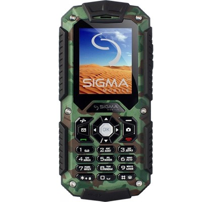 Sigma mobile X-Treme IT67 Khaki Green