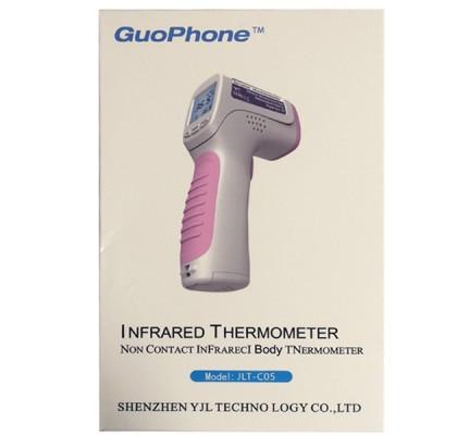Термометр бесконтактный инфракрасный цифровой GuoPhone JLT-C05