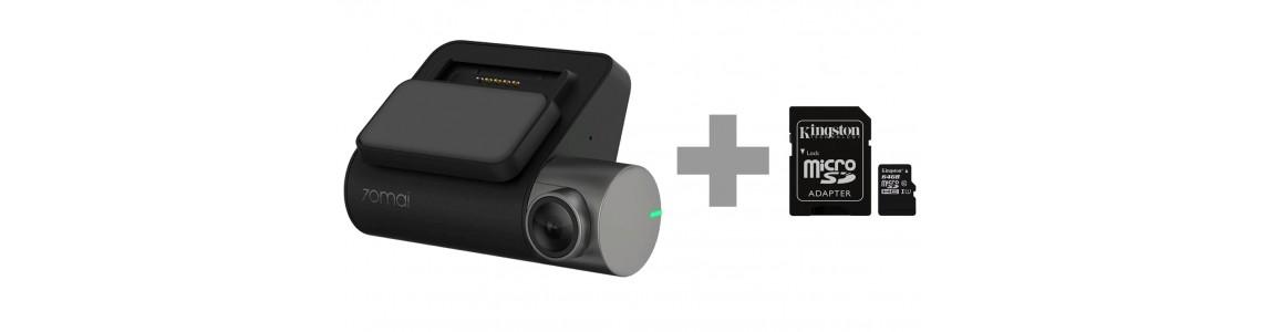 Видеорегистратор Xiaomi 70Mai Smart Dash Cam Pro (D02) + Карта памяти 64Gb!