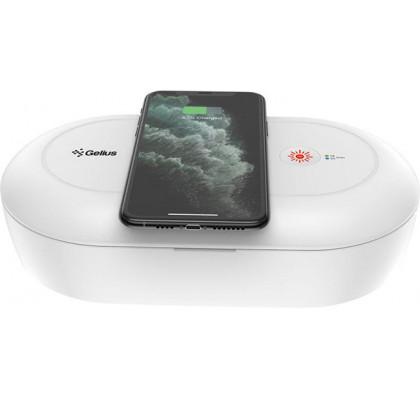 Стерилизатор для мобильного телефона с беспроводной зарядкой Gelius Pro UV Disinfection Box (GP-UV001)