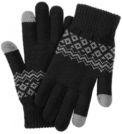Перчатки Xiaomi Touch Screen Gloves Finger Winter Black