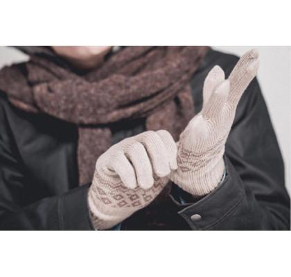 Перчатки Xiaomi Touch Screen Gloves Finger Winter Beige