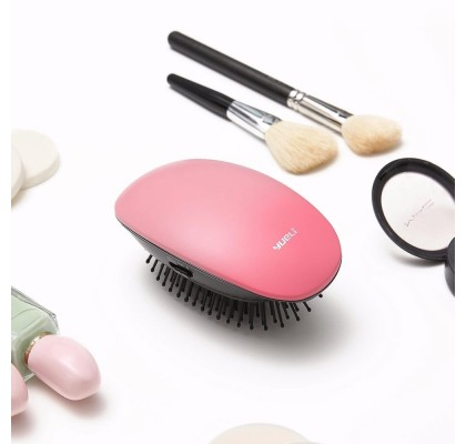 Массажная расчёска Xiaomi Yueli Portable Hair Massage Ionic Comb Matte Pink