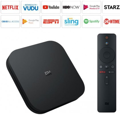 Приставка TV Xiaomi Mi Box S (MDZ-22-AB) Black (EU)