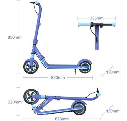 Электросамокат Xiaomi Ninebot Kids Scooter E8 Blue