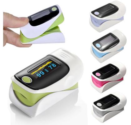 Пульсоксиметр Fingertip Pulse Oximeter OLV-80A Purple