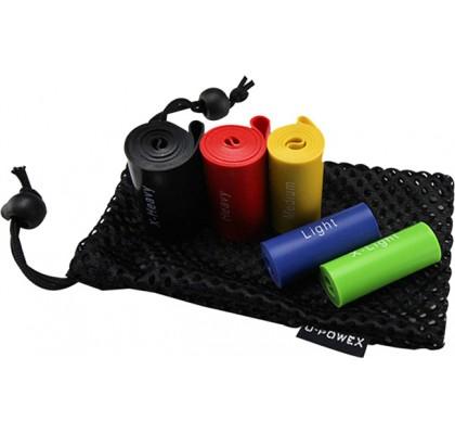 Фитнес-резинки U-Powex (5 штук)