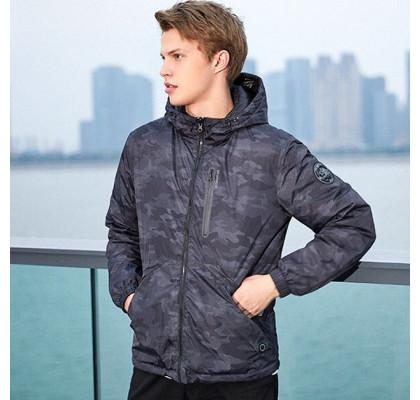 Куртка с подогревом Xiaomi Uleemark (XL) Comuiflage Blue
