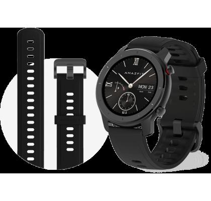 Смарт-часы Amazfit GTR Lite 47 mm Black (EU)