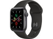 Смарт-часы Apple Watch Series 5 GPS, 40mm Space Grey Aluminium Case with Black Sport Band (MWV82GK/A)