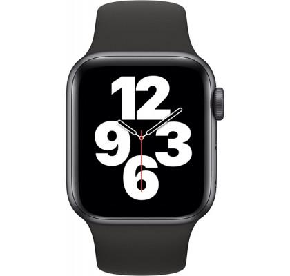 Смарт-часы Apple Watch SE GPS, 40mm Space Grey Aluminium Case with Black Sport Band (MYDP2)