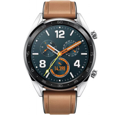 Смарт-часы Huawei Watch GT Steel/Brown (FTN-B19)