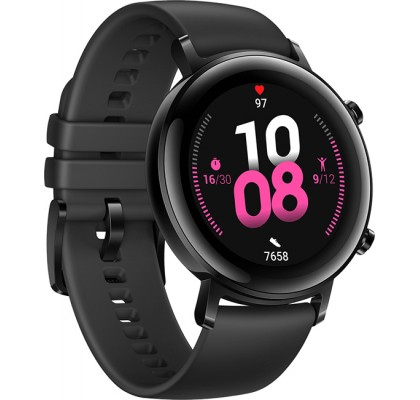 Смарт-часы Huawei Watch GT 2 Matte Black (DAN-B19) 42 mm