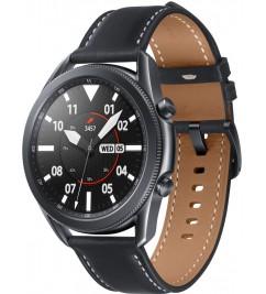 Смарт-часы Samsung Galaxy Watch Active 3 (SM-R840) кожа Stainless steel Black 45mm